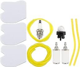 Leopop 545061801 Air Filter w Fuel Line Primer Bulb for Husqvarna 235 235E 236 236E 240 240E Chainsaw Jonsered CS2234 CS2238 CS2234S CS2238S Engine Chain Saw Tune Up Kit