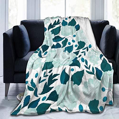 Conejo en un jardín (blanco) juego con fundas de almohada de microfibra suave y ligera juego de ropa de cama con cierre de cremallera 201 x 152 cm