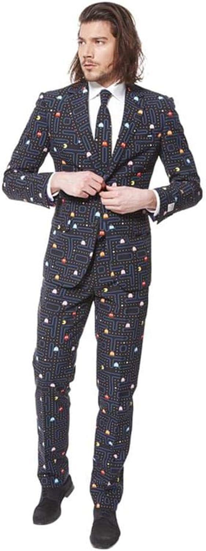 buscando agente de ventas Traje Pac-Man Pac-Man Pac-Man Opposuits hombre M  entrega rápida