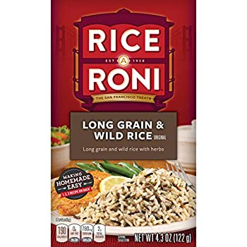Rice-A-Roni Long grain & wild rice with herbs Pack of 12