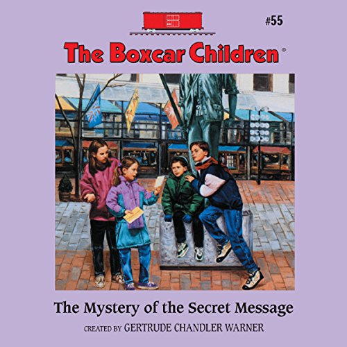 The Mystery of the Secret Message audiobook cover art