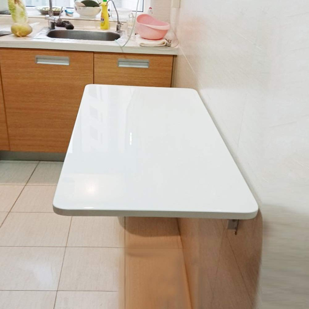 Amazon.com: FF Wall-Mounted Folding Drop-Leaf Table in White