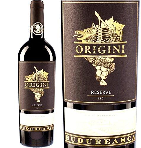 Budureasca Origini Reserve-Cuvee   Rotwein aus Rumänien 14,3% Cabernet Sauvignon, Shiraz & Merlot  12 Monate Barrique
