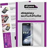 dipos I 6X Schutzfolie klar kompatibel mit Asus ZenFone AR Folie Bildschirmschutzfolie
