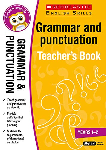 Grammar and Punctuation Teacher Resource for teaching children ages 5 to 7...
