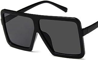 4c51985465 banbie8409 Cuadrado Grande de la Manera Mujeres de los Hombres Gafas de Sol  UV400 Gafas de