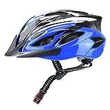 """クールなサイクリングスタイルを演出!男女兼用サイクリングヘルメットです。 通気孔付きで様々な角度から風を通して頭が蒸れにくい!丈夫で硬い素材が外部の衝撃を吸収し頭部を保護。快適な走行を向上させます。 頭の大きさに合わせてサイズ調整が可能。快適なフィット感を確保できます♪  【セット内容】サイクリングヘルメット1点【着用サイズ】フリーサイズ(男女兼用) """"xinhaodianziyouxiangongsi""""よりご提供のJANコード登録済オリジナル商品となります。類似商品を出品するショップ様がおりま..."""