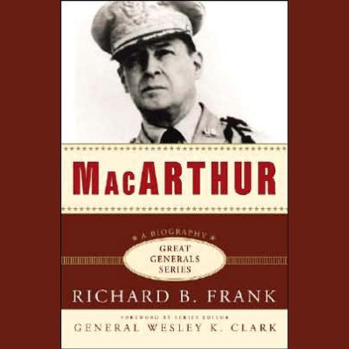 MacArthur audiobook cover art
