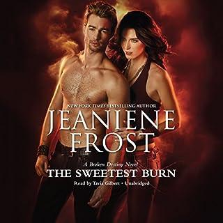 The Sweetest Burn audiobook cover art