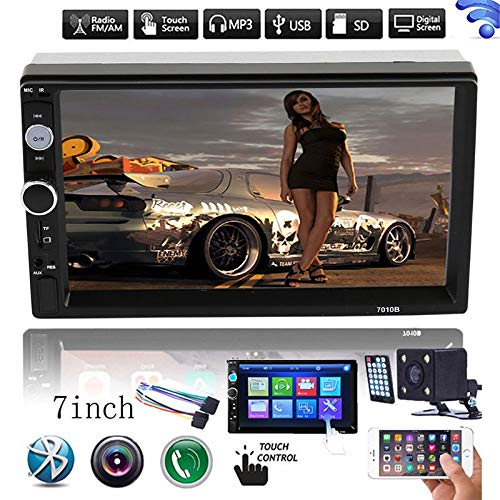 "LFJNET Best Choice HD 7"" Double 2Din Bluetooth Car Stereo Radio FM/MP5 Player Touch Screen in-Dash"