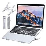 Camfosy Soporte Portatil Plegable, Soporte Ordenador Ventilado Laptop Stand 6 Ángulos Ajustables...