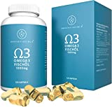 Brainvincible® Premium Qualität Norwegisches Omega 3 Fischöl Kapseln - Hergestellt in Deutschland...