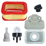 AUMEL Air Filter Base Primer Bulb Fuel Tank Vent Kit for Chinese 5200 5800 52cc 58cc Chainsaw Part.
