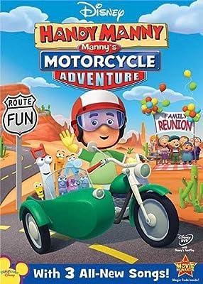 Disney Handy Manny: Motorcycle Adventure from Walt Disney Studios Home Entertainment
