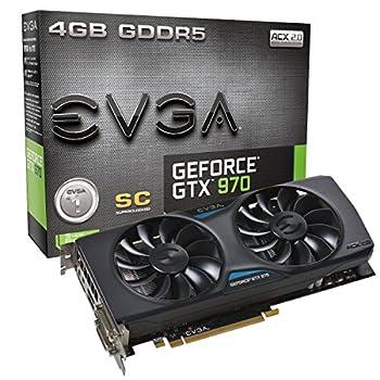 EVGA GeForce GTX 970 4GB SC GAMING ACX 2.0  04G-P4-2974-KR