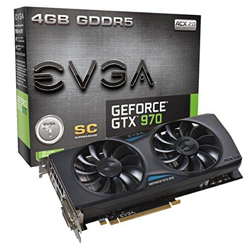 EVGA GeForce GTX 970 Superclocked ACX 2.0 4GB Grafikkarte