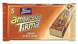 Tirma Ambrosías Con Relleno Sabor Avellanas Cubiertas De Chocolate 1720 g