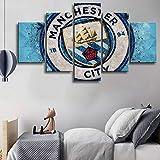 5 Stücke Sport Premier League Manchester City Fußball