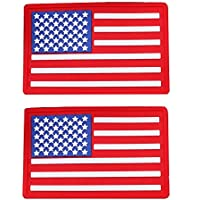 Outdoor Plus Military Uniform American Flag PVC Patch