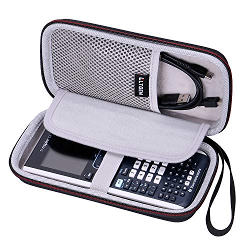 LTGEM EVA Hard Case for Texas Instruments TI-Nspire CX &TI-Nspire CX II Graphing Calculator - Travel Protective Carrying Storage Bag