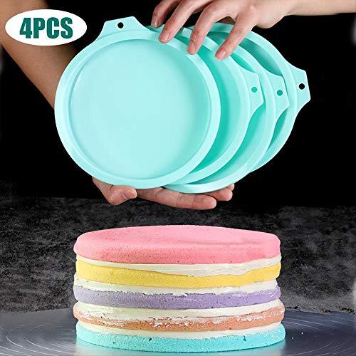 3D Arc-en-Biscuit Cookie Gâteau Moule Antiadhésif RAIN BOW forme 18 x 11 x 1 cm