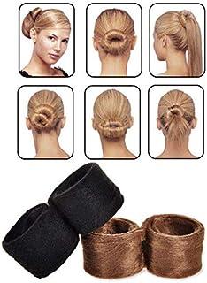 SOLDOUT™ 4 PCS Fashion Hair Band Accessories Braider For Women Headwear Hairpin Bun Tail Classic Pony Hair Styling Braid T...