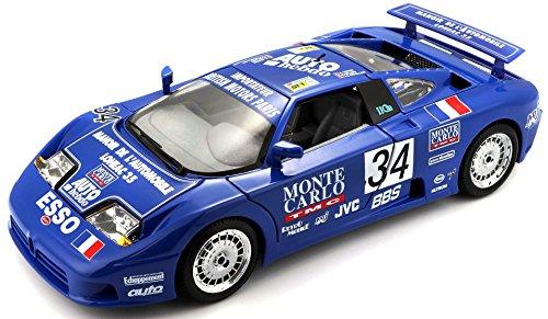 Bburago 15611039bl – Bugatti EB 110 la Mini Mineria Bleu