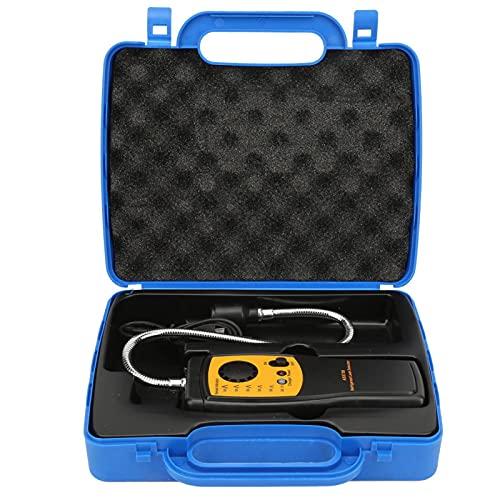 Detector de Fugas portátil Detector de Gas halógeno, Sensor Inteligente AS5750 Probador de Fugas de Gas refrigerante para Aire Acondicionado