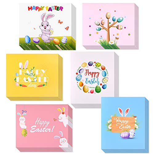 Pack of 6 With Envelopes Happy Easter Spring Cards by Hallmark Easter