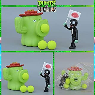 PVZ Plants Vs Zombies Peashooter PVC Action Figure Model Toy Gifts Toys Children Brinque Toys Doll in OPP Bag Must-Have Friendship Gifts The Favourite Superhero LOL Unboxed