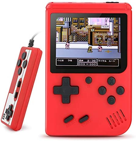 BLANDSTRS Handheld Game Consoles Retro Mini Game Player with 520 Classic FC Games Good Present product image