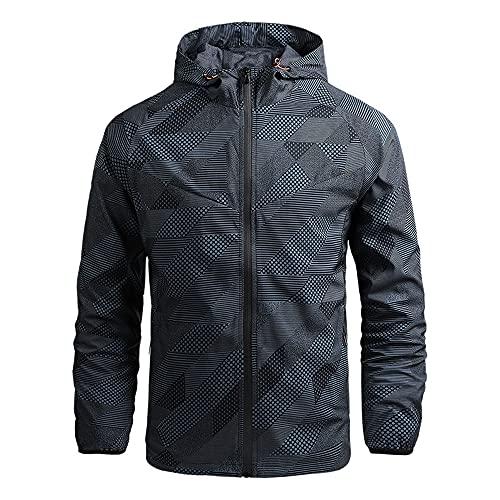 Primavera y otoño nueva chaqueta náutica de los hombres a prueba de viento montañismo