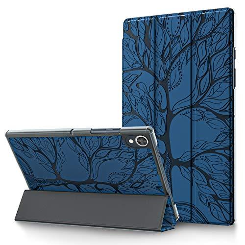 L&Btech - Custodia per Lenovo Tab M10 FHD Plus da 10,3 pollici, in pelle PU, con funzione sleep/wake e supporto, colore: Blu Royal
