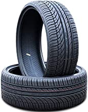 Set of 2 (TWO) Fullway HP108 All-Season High Performance Radial Tires-275/25R24 275/25ZR24 275/25/24 275/25-24 96W Load Range XL 4-Ply BSW Black Side Wall
