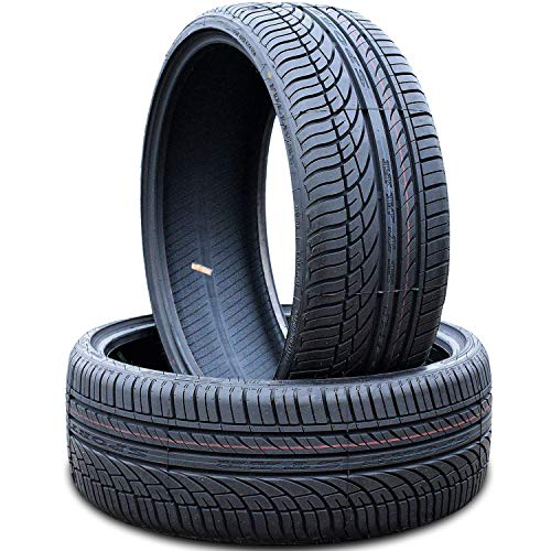 Set of 2 (TWO) Fullway HP108 All Season High Performance Radial Tires-275/25R24 275/25ZR24 96W XL
