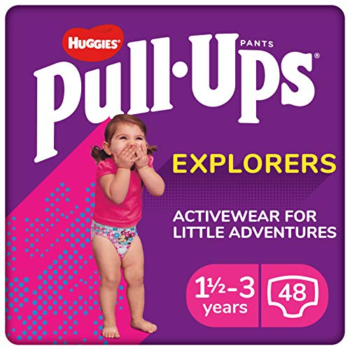 Huggies 2919161 Explorers Girl Pull Ups Trainingshose, Größe 5