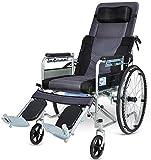 SOAR Silla de ruedas plegable Estándar reclinable silla de ruedas, los niños discapacitados de mentira reclinable silla de ruedas, parálisis cerebral en silla de ruedas - Elevación de apoyo for las pi