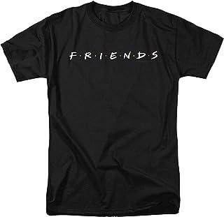 Black Tshirt Friends design - Men