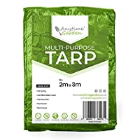 Water Resistant - Our tarps are made 100g per Metre Squared meaning they can withstand any weather, rain, snow, frost or sleet keeping your outdoor furniture or tent covered during bad weather Made with Durable Material - Made with High Quality Europ...