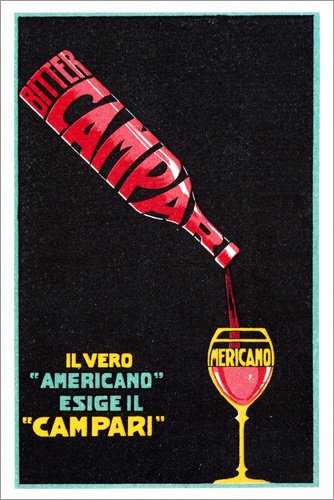 Poster 60 x 90 cm: Bitter Campari di akg-Images - Stampa Artistica Professionale, Nuovo Poster Artistico