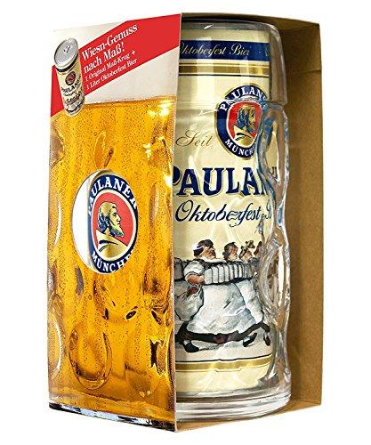 Orig. Oktoberfest Paulaner Maßkrug und Bier in einem Set