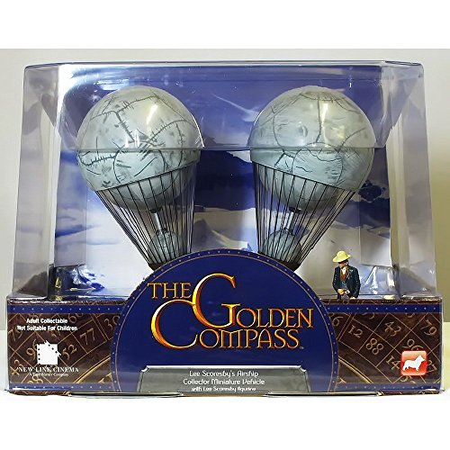 Corgi - The Golden Compass - Aeronaut Balloon With Lee Scoresby Figurine