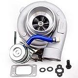 / Fit For GT2871 / Fit For GT25 / GT28 misura for il/la misura for il T25 / Fit For GT2860 / Fit For SR20 / Fit For CA18DET Turbocharger del Turbo Acqua AR .64 sintonia