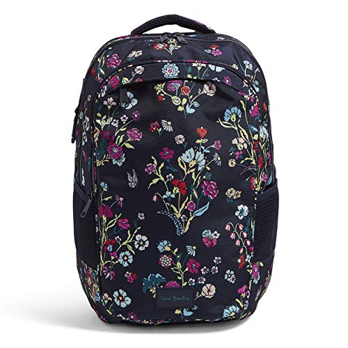 Vera Bradley Recycled Lighten Up Reactive XL Backpack, Itsy Ditsy Floral