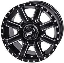 4/137 Tusk Cascade Wheel 14x7 4.0 + 3.0 Machined/Black for Can-Am Maverick X3 X RS Turbo R 2017-2018