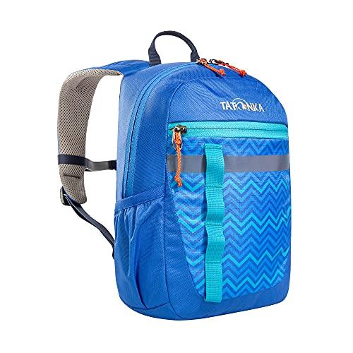Tatonka Kinderrucksack Husky Bag JR 10 - Rucksack für Kinder ab 4 Jahren - Mit Reflexstreifen und inkl. Sitzkissen - Mädchen und Jungen - 10 Liter - blau