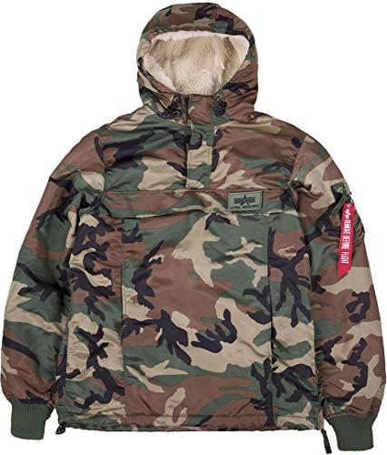 Alpha Industries Men's Jacket HPO Anorak, Größe:S, Farbe:wdl Camo 65