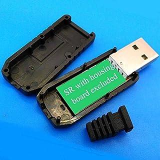كابلات ووصلات الكمبيوتر - أسود من مادة PVC لتقليل الضغط المصبوب لكابلات سلحية usb (SR مع حافظة بدون كابل)