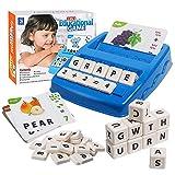 JCREN Matching Letter Game, Educational Toys for 3-8...