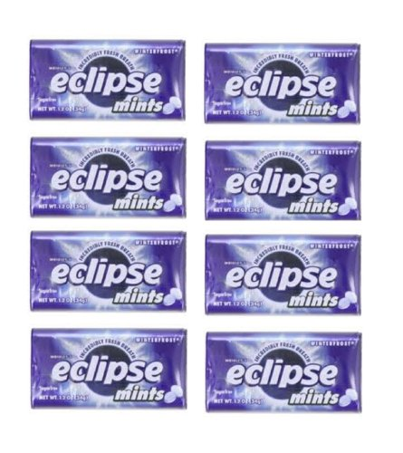 Gg8 Wrigley's Eclipse Mints Winterfrost Artifically Flavored Sugar Free - 8...